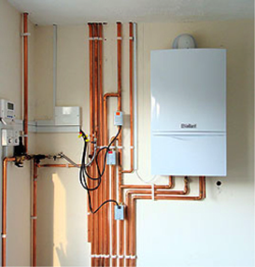 New boiler installation combination boiler install gas for Gas home heating systems